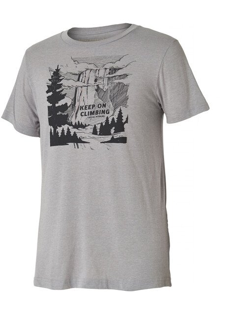Royal Robbins Keep On Climbing Tee Men Charcoal